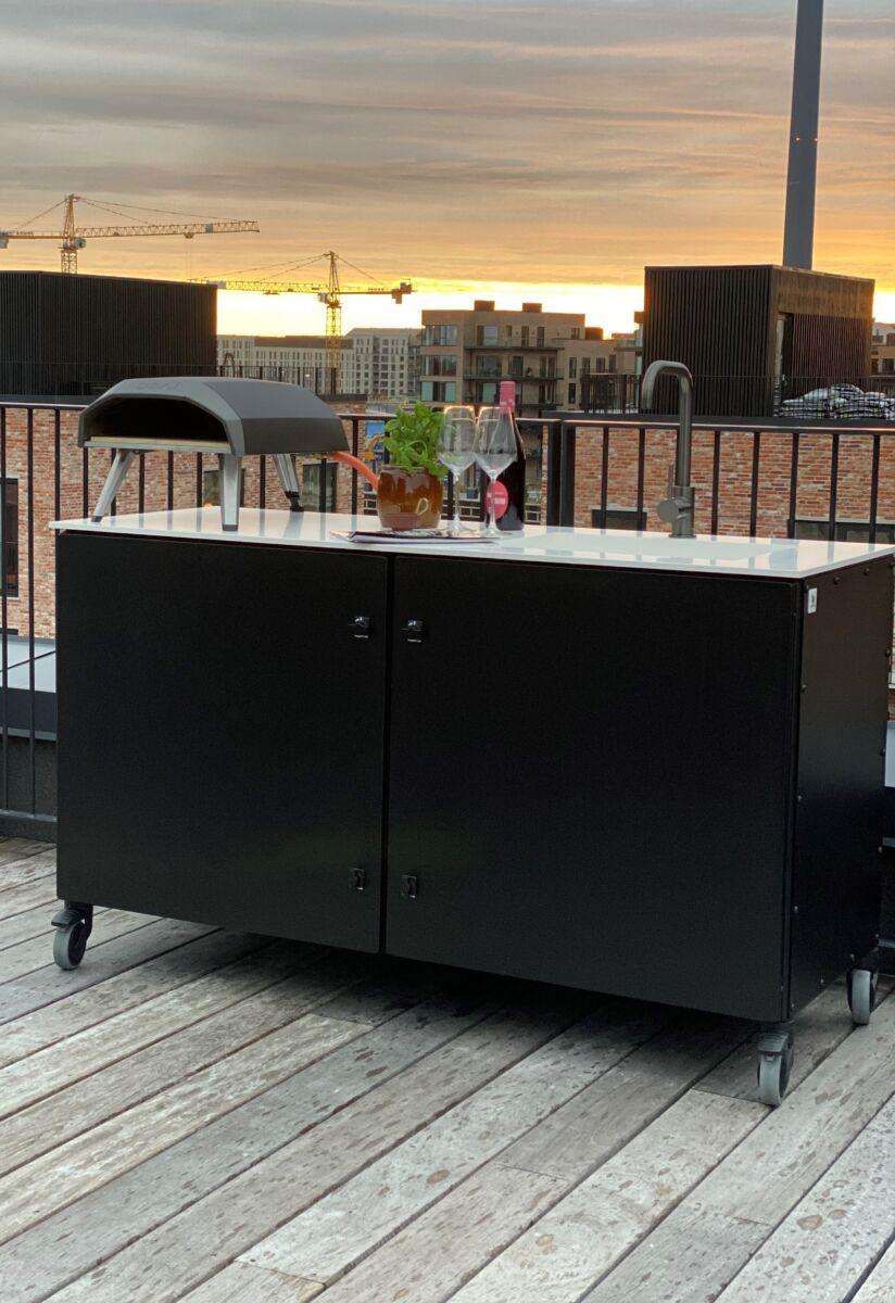udekøkken terrasse Außenküche utekök utekjøkken buiten keuken